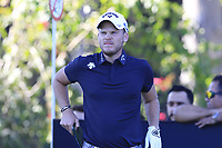 Danny Willett (ENG) on the 11th tee during Thursday's Round 1 of the 2018 Turkish Airlines Open hosted by Regnum Carya Golf &amp; Spa Resort, Antalya, Turkey. 1st November 2018.<br /> Picture: Eoin Clarke | Golffile<br /> <br /> <br /> All photos usage must carry mandatory copyright credit (&copy; Golffile | Eoin Clarke)