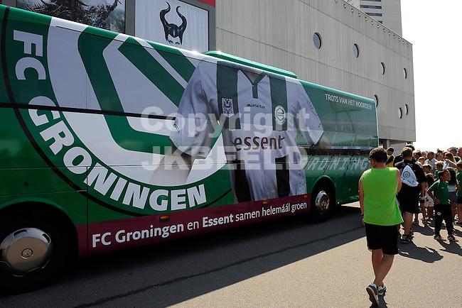 GRONINGEN - Voetbal, Open dag FC Groningen, Euroborg, seizoen 2014-2015, 02-08-2014,