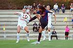 FC Barcelona vs Montpellier HSC: 1-2.<br /> Marion Torrent vs Andressa Alves.