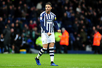 Hal Robson-Kanu of West Bromwich Albion celebrates at full time during the Sky Bet Championship match between West Bromwich Albion and Swansea City at The Hawthorns in Birmingham, England, UK. Sunday 08 December 2019