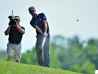 Potomac, MD - June 29, 2017: Adam Hadwin plays his second shot on the 15th hole during Round 1 of professional play at the Quicken Loans National Tournament at TPC Potomac at Avenel Farm in Potomac, MD, June 29, 2017.  (Photo by Don Baxter/Media Images International)