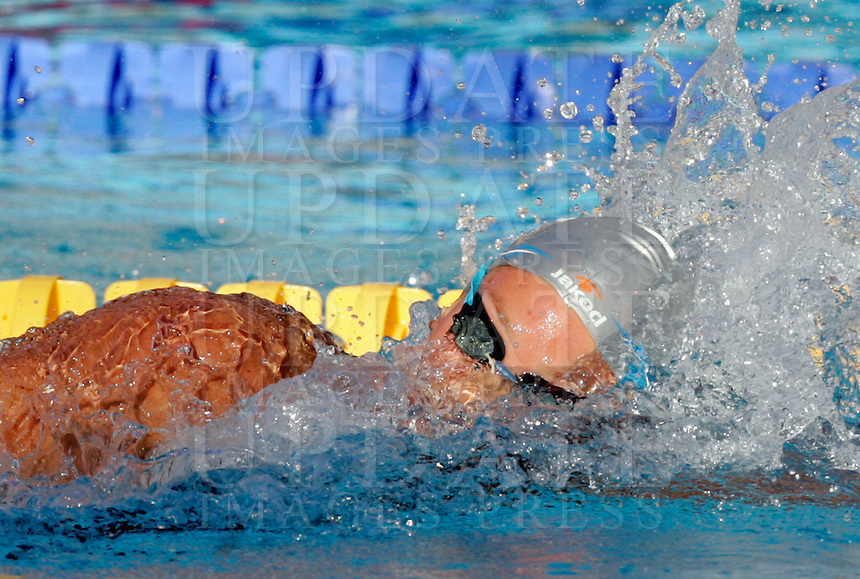 Italy's Federica Pellegrini swims to set the new world record clocking 1.52.98 in the Women's 200m Freestyle, at the Swimming World Championships in Rome, 29 July 2009..UPDATE IMAGES PRESS/Riccardo De Luca