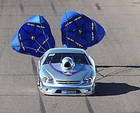 Feb 25, 2017; Chandler, AZ, USA; NHRA top sportsman driver Don Meziere during qualifying for the Arizona Nationals at Wild Horse Pass Motorsports Park. Mandatory Credit: Mark J. Rebilas-USA TODAY Sports