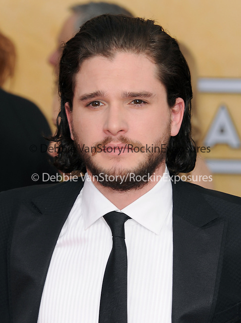Kit Harington attends The 20th SAG Awards held at The Shrine Auditorium in Los Angeles, California on January 18,2014                                                                               © 2014 Hollywood Press Agency