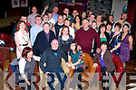 ENGAGEMENT: A surprise party was held in O'Donnells Bar & Restaurant, Mounthawk, Tralee on Saturday night for Keith McGlynn and Carol Caulfield of Sundays Well, Tralee(seated) as they announced their engagement..