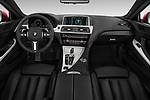 Stock photo of straight dashboard view of 2017 BMW 6-Series-Coupe 650i 3 Door Coupe Dashboard