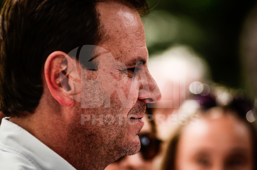 RIO DE JANEIRO, RJ, 16.07.2016 - EDUARDO PAES-RJ - Prefeito Eduardo Paes durante a inauguração da primeira etapa das obras de reformas do Museu Histórico da Cidade do Rio de Janeiro, no Bairro da Gávea, zona sul da cidade, na manhã desse sábado, 16. (Foto: Jayson Braga / Brazil Photo Press)