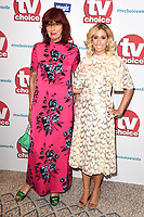 Janet Street Porter and Stacey Solomon<br /> arriving for the TV Choice Awards 2017 at The Dorchester Hotel, London. <br /> <br /> <br /> ©Ash Knotek  D3303  04/09/2017