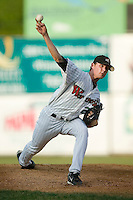 Winston-Salem starting pitcher Kyle McCulloch (27) in action versus Wilmington at Ernie Shore Field in Winston-Salem, NC, Saturday, June 9, 2007.