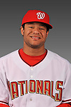 14 March 2008: ..Portrait of Robby Tolan, Washington Nationals Minor League player at Spring Training Camp 2008..Mandatory Photo Credit: Ed Wolfstein Photo