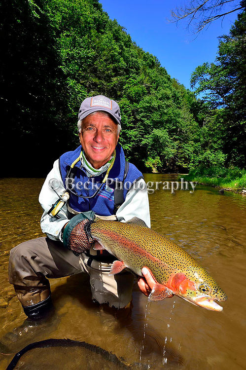 MIKE CAMERA RAINBOW TROUT
