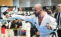 Brendan Doogan. 2018 Oceania Taekwon-Do Federation Championships at ASB Sports Centre in Wellington, New Zealand on Sunday, 15 July 2018. Photo: Dave Lintott / lintottphoto.co.nz