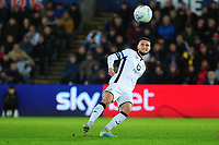 Matt Grimes of Swansea City in action during the Sky Bet Championship match between Swansea City and Millwall at the Liberty Stadium in Swansea, Wales, UK. Saturday 23rd November 2019