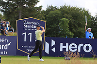 Brandon Stone (RSA) on the 11th during Round 3 of the Aberdeen Standard Investments Scottish Open 2019 at The Renaissance Club, North Berwick, Scotland on Saturday 13th July 2019.<br />