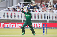 Imad Wasim (Pakistan) lofts forward of point for four runs during Pakistan vs Bangladesh, ICC World Cup Cricket at Lord's Cricket Ground on 5th July 2019