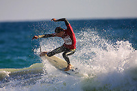Cottesloe Beach, Perth, Western Australia, Saturday August 18 2001..A round of  The Quiksilver Airshow International Series, with $20,000 in prize-money was run today at Cottesloe Beach. The Quiksilver Airshow is the richest and most spectacular surfing event to be staged at a Perth Beach. The contest is based around the futuristic moves of aerial surfing, where each surfer  is judged on their best two aerial manoeuvres in each heat. (Photo: joliphotos.com)
