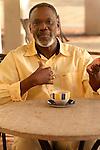 African American man gesticulating