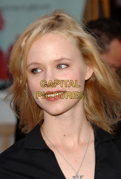 """THORA BIRCH.Universal Pictures' World Premiere of  """"Cinderella Man"""" held at The Universal City Walk in Universal City, CA..May 23rd, 2005.Ref: MOO.headshot portrait .www.capitalpictures.com.sales@capitalpictures.com.©Capital Pictures."""