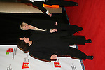 Rosie O'Donnell and Kelly host the Rosie's For All Kids Foundation and Rosie's Broadway Kids were created because of Rosie's love of children and the knowledge that one person can make a difference in the life of a child on Nov. 24. 2008 at the New York Marriott Marquis, NYC, (Photo by Sue Coflin/Max Photos)