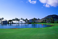 Kauai Lagoons - Kiele, No. 17, Kauai, Hawaii.  Architect: Jack Nicklaus