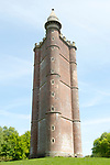 King Alfred's Tower, Folly ofKing Alfred's the Great or Stourton Tower, Stourhead, Somerset, England, UK completed 1772