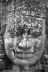Face of Lokesvara, Bayon, Angkor Thom, Cambodia