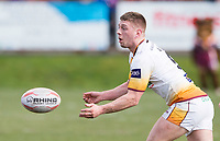 Picture by Allan McKenzie/SWpix.com - 25/03/2018 - Rugby League - Betfred Championship - Batley Bulldogs v Featherstone Rovers - Heritage Road, Batley, England - Alistair Leak.
