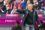 03.11.2018, Allianz Arena, Muenchen, GER, 1.FBL,  FC Bayern Muenchen vs. SC Freiburg, DFL regulations prohibit any use of photographs as image sequences and/or quasi-video, im Bild Christian Streich (Trainer Freiburg) <br /> <br />  Foto &copy; nordphoto / Straubmeier