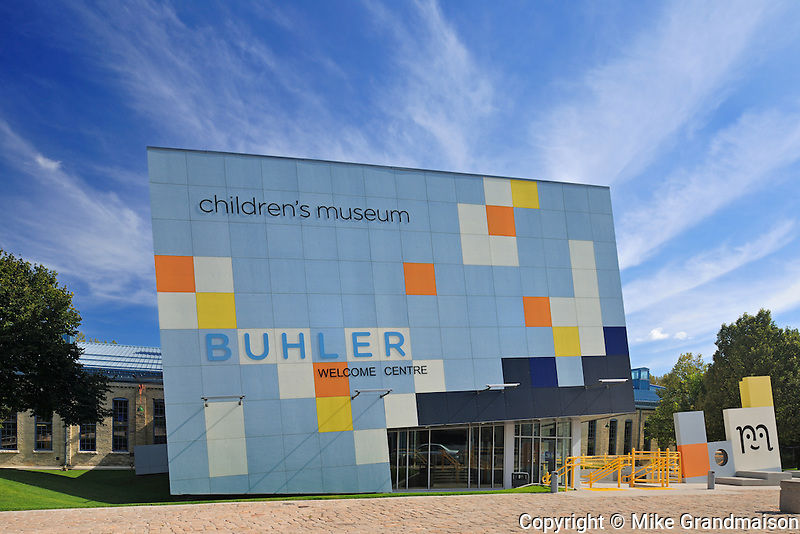 Children's Museum at The Forks. Buhler Welcome Centre<br /> Winnipeg<br /> Manitoba<br /> Canada