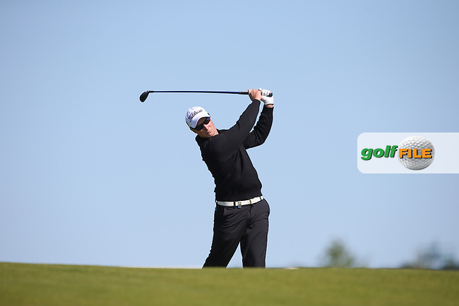 Bjorn Akesson (SWE) plays second shot to the 8th during Round Two of the 2015 Nordea Masters at the PGA Sweden National, Bara, Malmo, Sweden. 05/06/2015. Picture David Lloyd | www.golffile.ie