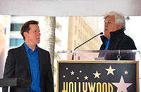 Jeff Dunham &amp; Jay Leno at the Hollywood Walk of Fame Star Ceremony honoring ventriloquist Jeff Dunham, Los Angeles, USA 21 Sept. 2017<br /> Picture: Paul Smith/Featureflash/SilverHub 0208 004 5359 sales@silverhubmedia.com