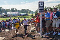 Rory McIlroy (NIR) heads to 12 during 1st round of the 100th PGA Championship at Bellerive Country Cllub, St. Louis, Missouri. 8/9/2018.<br /> Picture: Golffile | Ken Murray<br /> <br /> All photo usage must carry mandatory copyright credit (© Golffile | Ken Murray)