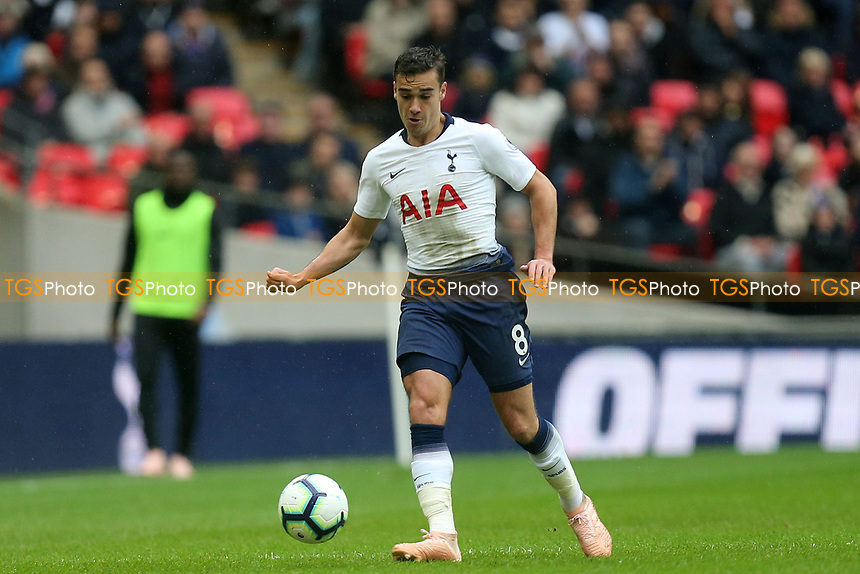Harry Winks of Tottenham Hotspur during Tottenham Hotspur vs Cardiff City, Premier League Football at Wembley Stadium on 6th October 2018