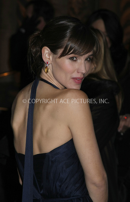 WWW.ACEPIXS.COM . . . . .  ....January 15 2008, New York City....Actress Jennifer Garner arriving at The 2007 National Board of Review Awards Gala at Cipriani 42nd street ....Please byline: AJ Sokalner - ACEPIXS.COM..... *** ***..Ace Pictures, Inc:  ..te: (646) 769 0430..e-mail: info@acepixs.com..web: http://www.acepixs.com