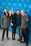 Director Werner Herzog, actors James Franco and Nikole Kidman promotes his Queen of the desert film during the LXV Berlin film festival, Berlinale at Potsdamer Straße in Berlin on February 6, 2015. Samuel de Roman / Photocall3000 / Dyd fotografos-DYDPPA.