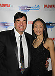 Kimiko attends The Times Square Broadway Royale hosted by 2013 Tony Award Winner Dale Badway on New Years Eve 2014 at the legendary Copacabana, New York City, New York. (Photo by Sue Coflin/Max Photos)