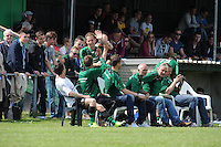 VOETBAL: LEMMER: 10-05-2015, VV Lemmer - VV Drachten , uitslag 4-0, Lemmer Kampioen, ©foto Martin de Jong