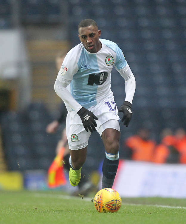 Blackburn Rovers Amari'i Bell<br /> <br /> Photographer Mick Walker/CameraSport<br /> <br /> The EFL Sky Bet Championship - Blackburn Rovers v Ipswich Town - Saturday 19 January 2019 - Ewood Park - Blackburn<br /> <br /> World Copyright © 2019 CameraSport. All rights reserved. 43 Linden Ave. Countesthorpe. Leicester. England. LE8 5PG - Tel: +44 (0) 116 277 4147 - admin@camerasport.com - www.camerasport.com