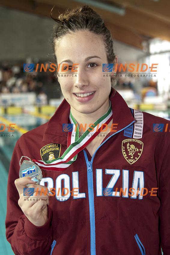 TROMBETTI Luisa FFOO<br /> Day03 Finali - 400 Misti Donne<br /> Campionati Italiani Assoluti Nuoto Primaverili Fin UnipolSai<br /> Riccione Italy 14-18/04/2015<br /> Photo Giorgio Scala/Deepbluemedia/Insidefoto