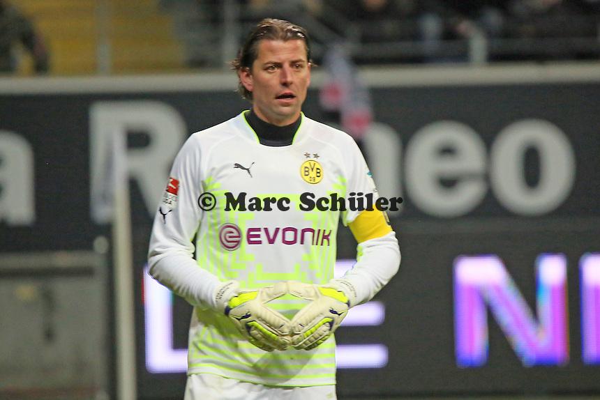 Roman Weidenfeller (BVB) - Eintracht Frankfurt vs. Borussia Dortmund, Commerzbank Arena
