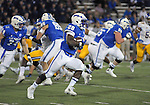 September 12, 2015 - Colorado Springs, Colorado, U.S. - Air Force running back, Jacobi Owens #28, breaks loose for a long first half gain during Mountain West Conference action between the San Jose State Spartans and the Air Force Academy Falcons at Falcon Stadium, U.S. Air Force Academy, Colorado Springs, Colorado.  Air Force defeats San Jose State 37-16.