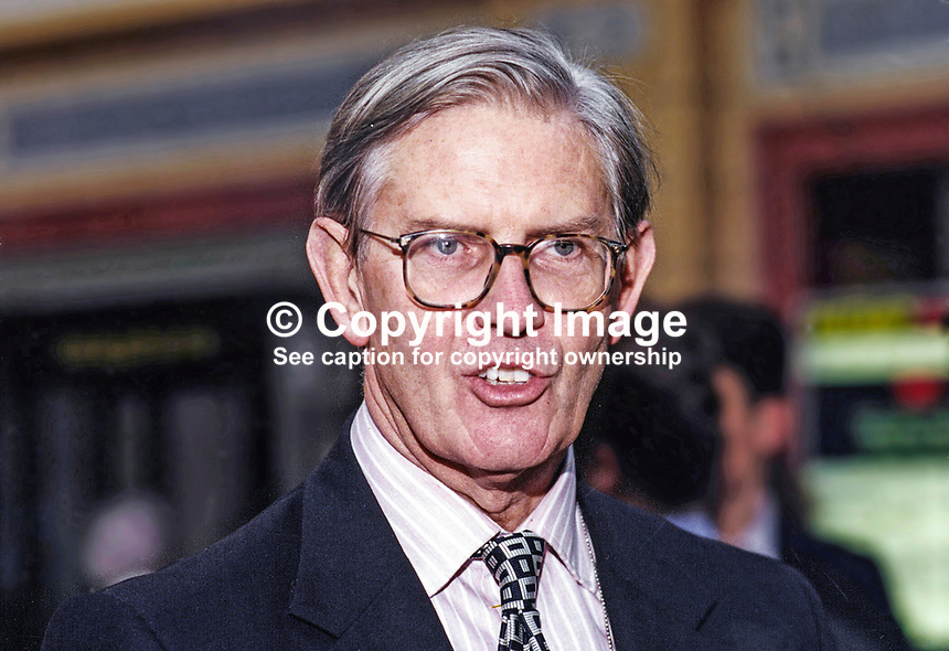 William Cash, MP, Conservative Party, UK, Westminster Parliament, 19951032/WC/2.<br />