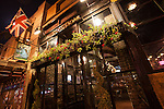The Blue Boar English pub on the Cahuenga Corridor in Hollywood, Los Angeles, CA