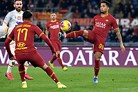 Cengiz Under of AS Roma , Justin Kluivert of AS Roma <br /> Roma 23/02/2020 Stadio Olimpico <br /> Football Serie A 2019/2020 <br /> AS Roma - Lecce<br /> Photo Andrea Staccioli / Insidefoto