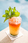The Queenspark Swizzle, a signature cocktail served at the Andaz hotel in Wailea, Maui, Hawaii