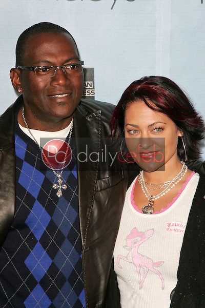 Randy Jackson and wife Erika