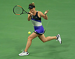 September 5,2019:   Elina Svitolina (UKR) loses to Serena Williams (USA) 6-3, 6-1, at the US Open being played at Billie Jean King National Tennis Center in Flushing, Queens, NY.  ©Jo Becktold/CSM