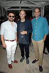 Isaac Resnikoff, John Houck, Antonio Puleo==<br /> LAXART 5th Annual Garden Party Presented by Tory Burch==<br /> Private Residence, Beverly Hills, CA==<br /> August 3, 2014==<br /> &copy;LAXART==<br /> Photo: DAVID CROTTY/Laxart.com==