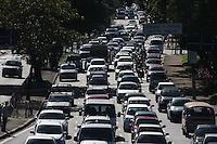 SÃO PAULO, SP, 07/05/2012/ TRANSITO.<br /> <br /> Transito pesado na Av. Radial Leste sentido do centro da capital paulista na manhã de hoje (7)<br /> <br /> Luiz Guarnieri/Brazil Photo Press