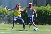 Santiago, Chile - Monday, January 26, 2015: USMNT Training in Santiago.